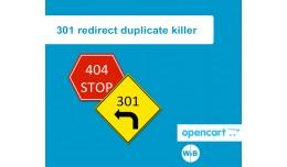 301 redirect dublicate killer