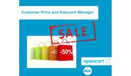 Customer Price and Discount Manager