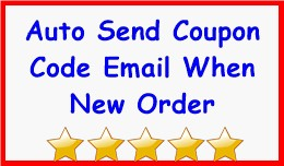 Auto Send Coupon Code Email When New Order