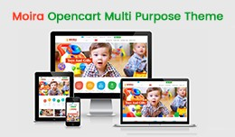 Moira Opencart Multi Purpose Opencart Responsive..