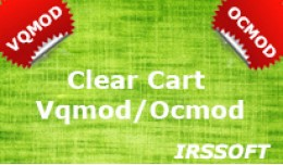 Clear Cart VQMOD / OCMOD