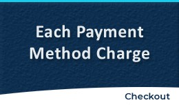 Each Payment Method Charge/Fee