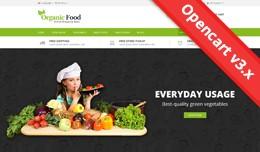 Organic Food Opencart 2 & 3 Theme - OPCADD018