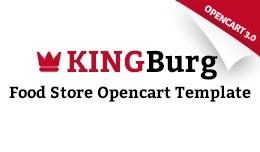 KingBurg - Food OpenCart 3.x -  66129