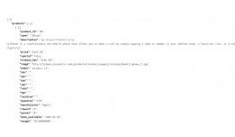 JSON import / upload products  with json api