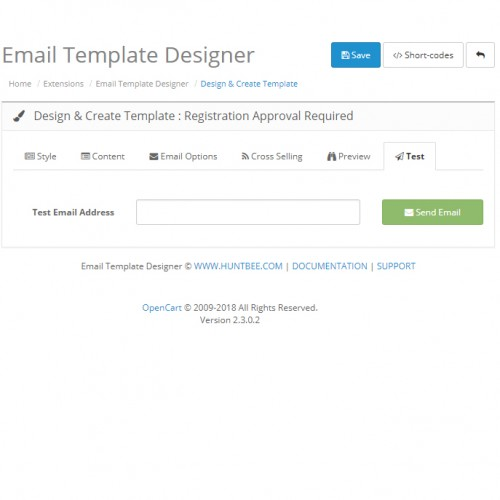 OpenCart Email Template Designer PRO Pack Newsletter Scheduler - Create html email template online