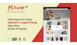 fShop - Multipurpose Responsive eCommerce OpenCa..