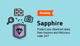 Sapphire FREE - Opencart Security Module