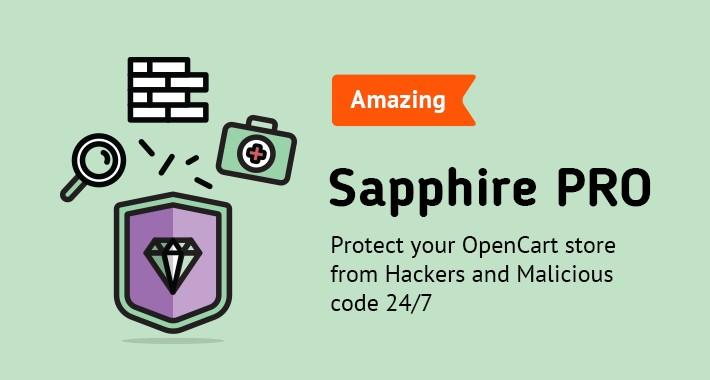 Sapphire PRO - Opencart Security Module