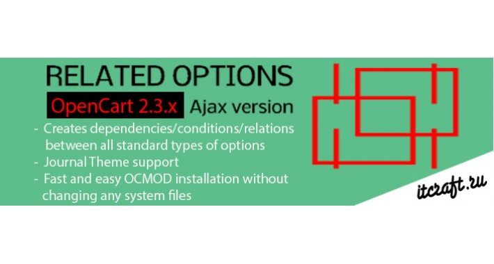 Dependent / Related Options for Opencart 2.3.x Ajax