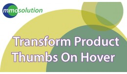 Transform Product thumb on hover