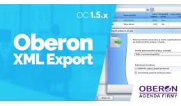 Export do účtovníckeho software Oberon 1.5.x