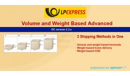 LPexpress Shipping Advanced  Terminals volume   ..