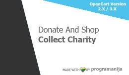 Donate And Shop / Support / Collect Charity