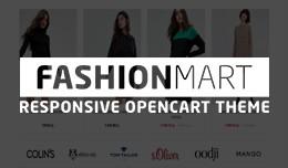 FASHIONMART - responsive opencart theme