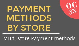 Payment methods by store OC3x