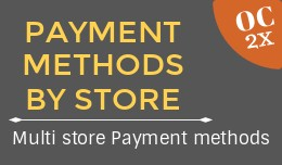 Payment methods by store OC2x
