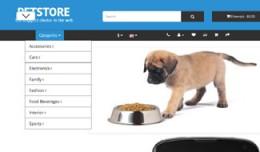 OpenCart 3 Theme Mistral Pets Cyan
