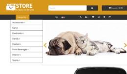 OpenCart 3 Theme Mistral Pets Ochre