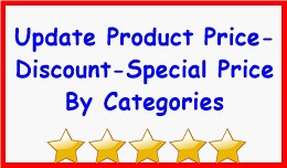 Update Product Price-Discount-Special Price By C..