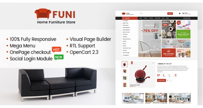 So Funi – Multipurpose Responsive OpenCart 3 & 2.3 Theme