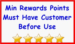 Min Rewards Points Must Have Customer Before Use