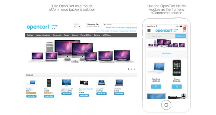 OpenCart - Opencart Mobile App for SiberianCMS Open-source App builder