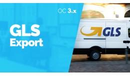GLS Export Expedicií SK / CZ pre Opencart 3.x