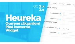 Heureka - Overené zákazníkmi, GDPR, Konverzia..