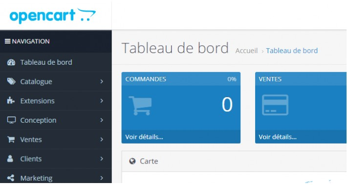French Language Pack Opencart 3