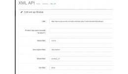 XML import / upload products  trough XML feed