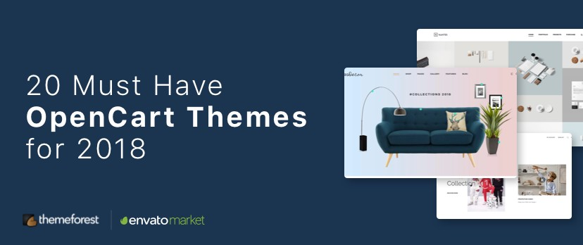 20 OpenCart Themes for 2018 from ThemeForest