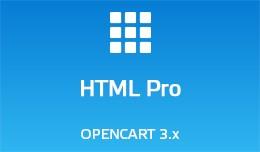 HTML Pro - Opencart 3.x