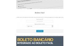 Boleto Bancário - Integrado ao Boleto Fácil