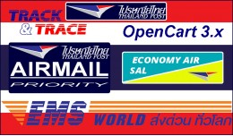 Thailand Post: Airmail, EMS & Economy Air (S..