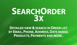 Search Order 3x - Detail view and Extended searc..