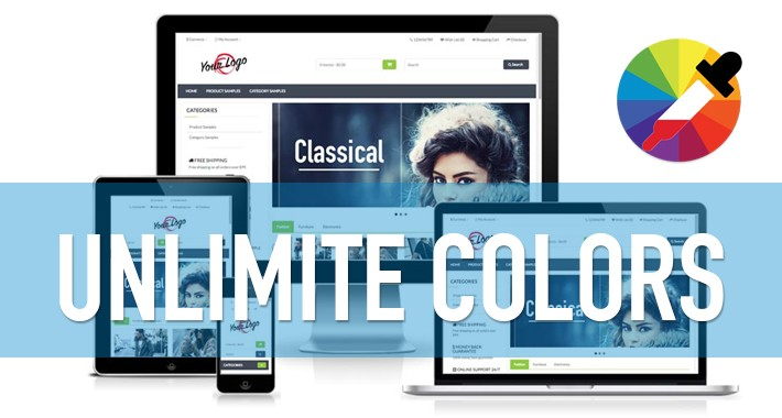 Classical Theme for Opencart v.3.x. v1.0.2