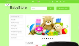 OpenCart 3 Theme Mistral Baby Grass