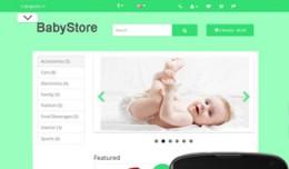 OpenCart 3 Theme Mistral Baby Taiga