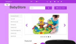 OpenCart 3 Theme Mistral Baby Violet