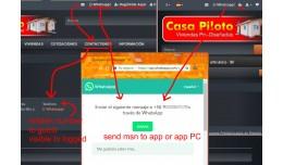 VQMOD Whatsapp send msg - Hidden Nro Tel - for  ..