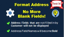 Format Address - No More Blank Fields