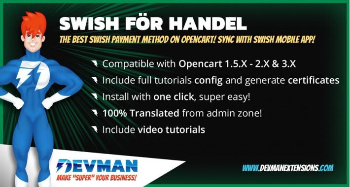Swish för handel - Payment method