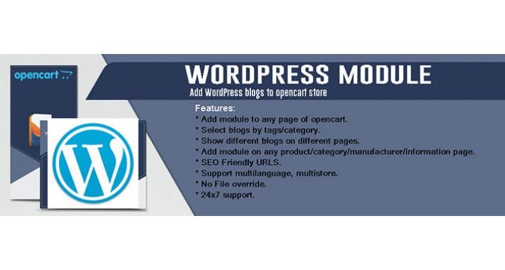 Wordpress Blog for Opencart