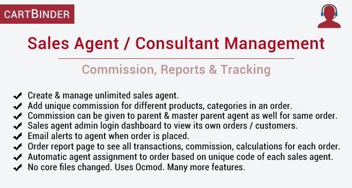 Sales Agent Management : Commission, Tracking & Reports