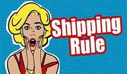Shipping Rule // Regole prezzo spedizioni