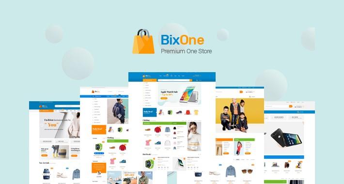 Pav Bixone - Creative and Powerful Multipurpose Opencart 3 Theme