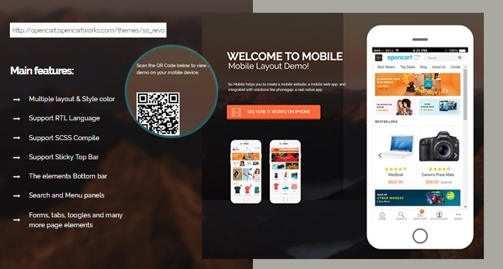 So Mobile Layout Theme for OpenCart 3