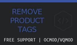 Remove Tags From Product Pages
