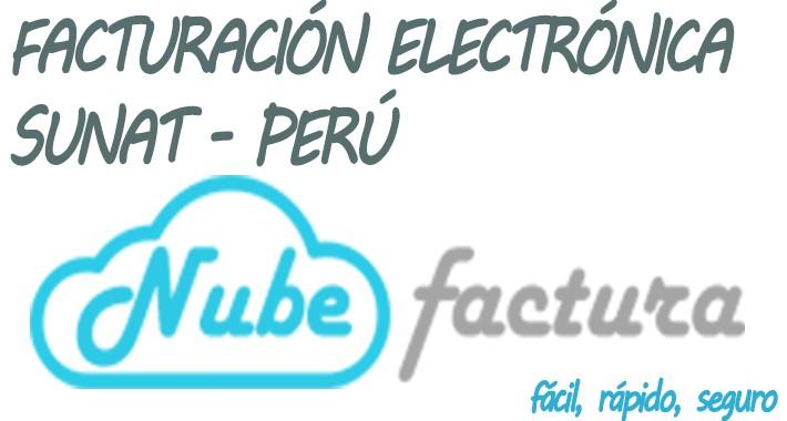 Nubefactura - Facturación Electrónica Sunat Perú (Opencart)